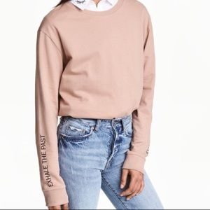H&M Exhale the Past Inhale the Future Pullover